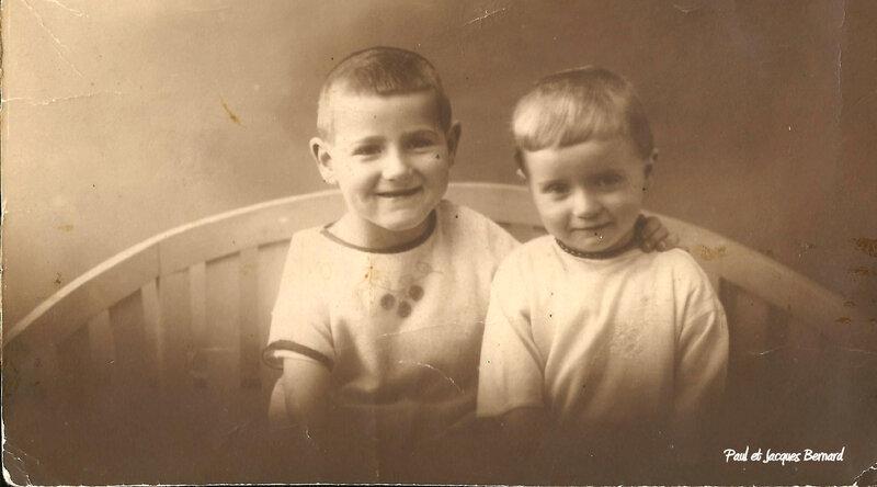 Paul et Jaacques Bernard