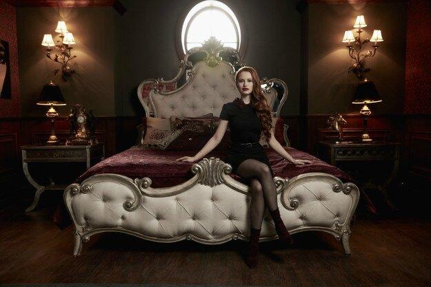 Madelaine Petsch as Cheryl Blossom_Riverdale