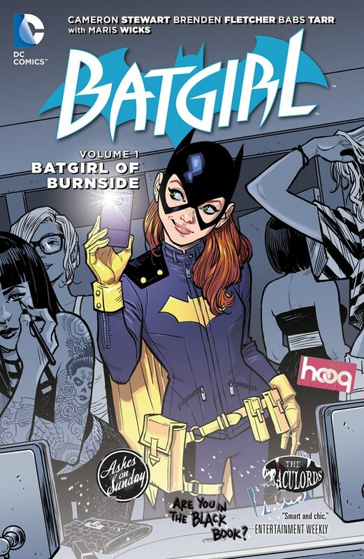 batgirl vol 1 batgirl of burnside TP