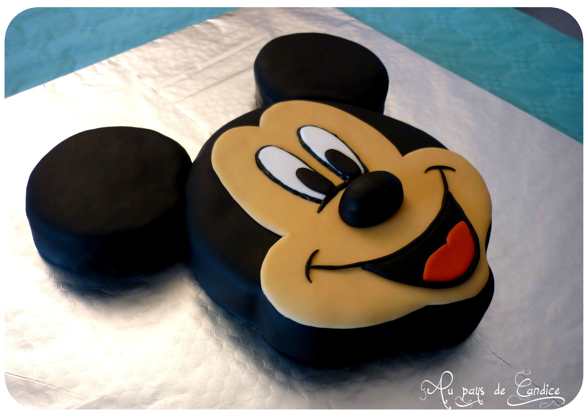 Mickey pisode in dit au pays de candice - Gateau mickey facile ...