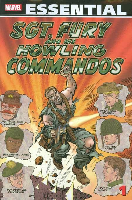 essential sgt fury and his howling commandos vol 1 TP