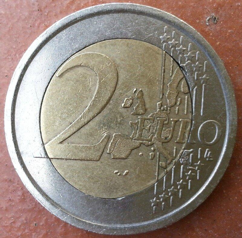 2 EURO 2006 OLIMPIADI TORINO 104€b