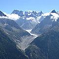 Disparition du plus grand glacier de france - disappearance of the largest glacier in france