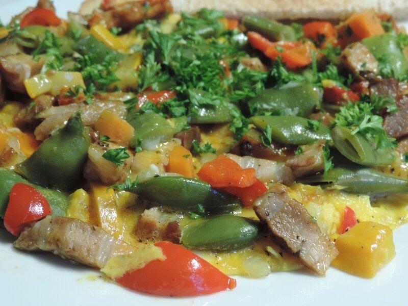 fritatta légumes du jardin (5)