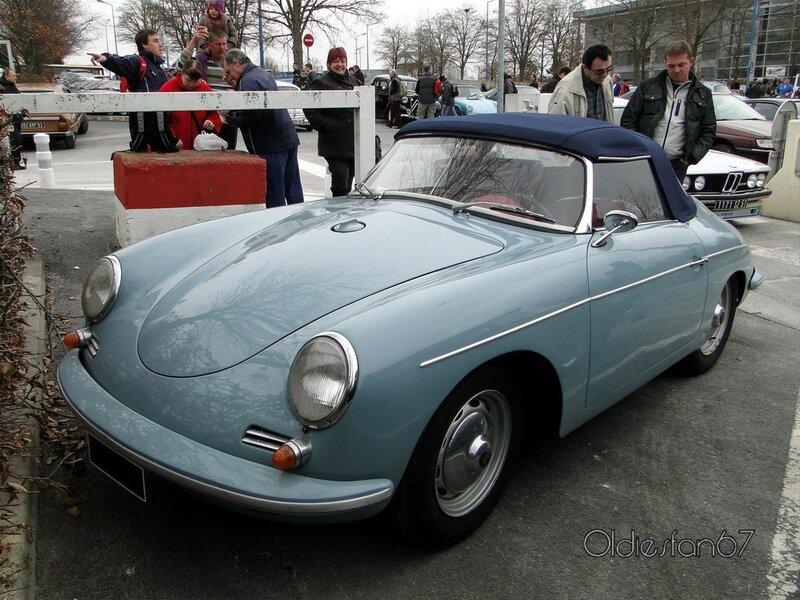 porsche 356 b super 90 roadster 1960 1962 a
