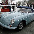 Porsche 356 b super 90 roadster - 1960 à 1962