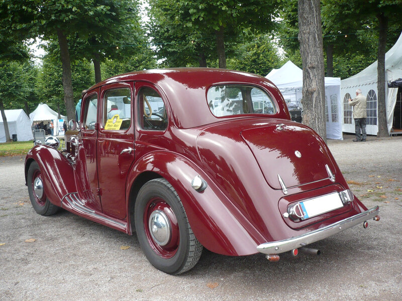 MG type YA berline 1950 Schwetzingen (2)