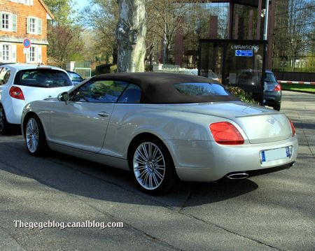 Bentley continental GTC speed six de 2009 (Retrorencard avril 2012) 02