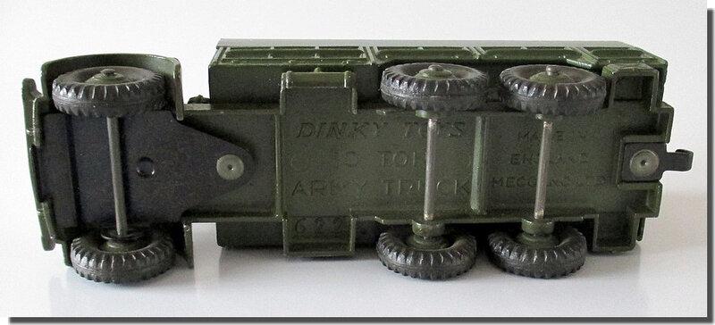 Dinky Toys 622 10-Ton Army Wagon 5