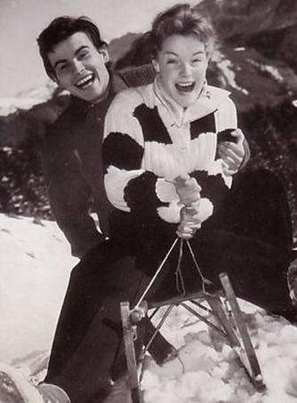 HB_and_Romy_Schneider_1957