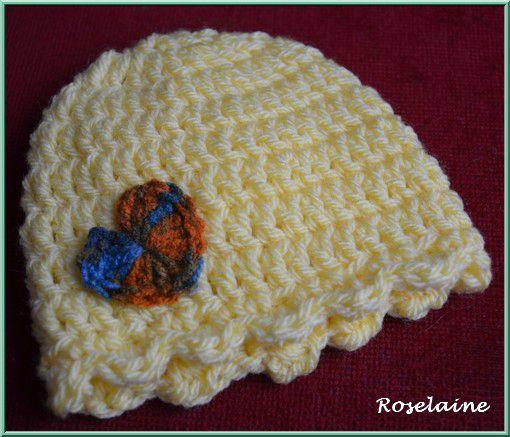 Roselaine505 Bonnet coeur