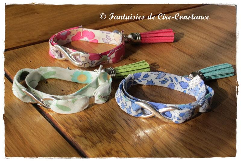 Bracelets Infini doule tour