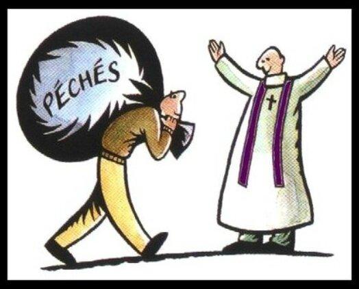 laisser tomber les péchés