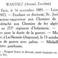 Livre d'or faculté de droit paris. 272e ri.