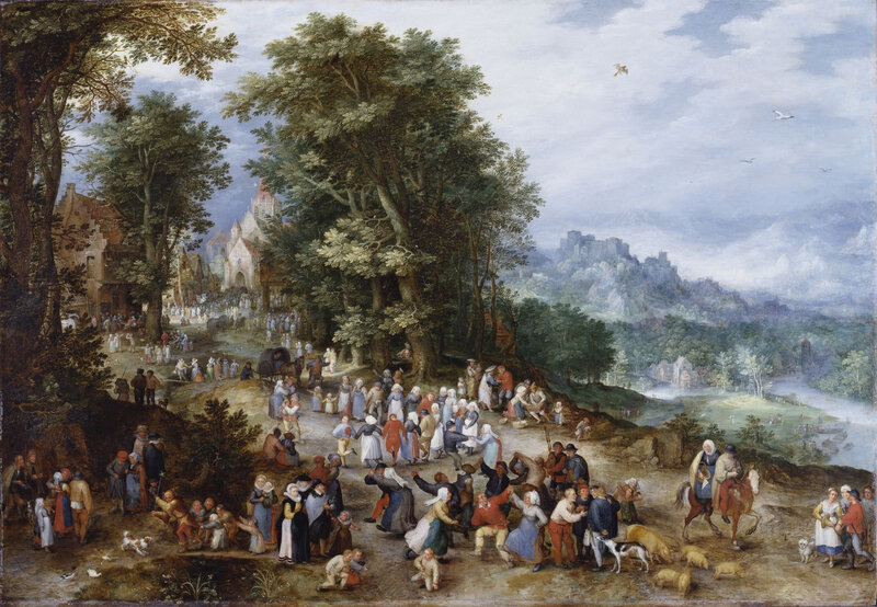 Londres Royal Collections Jan Brueghel de Velours405513
