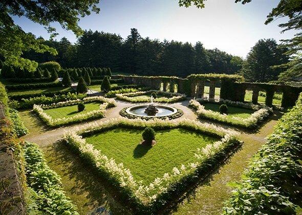 The Mount jardin italien