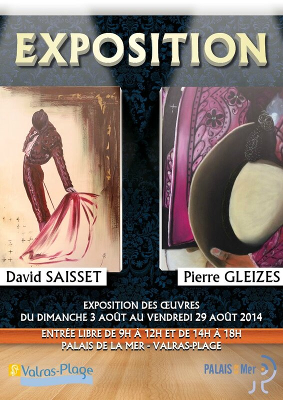 affiche expo valras