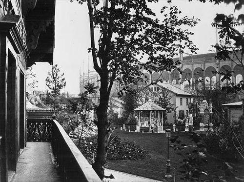 Exposition universelle 1867 Parc et Palais Omnibus