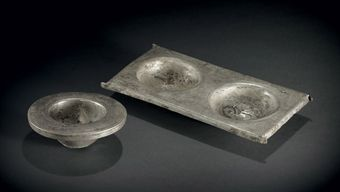 a_silver_tray_and_cup_gandhara_circa_late_1st_century_bc___early_1st_c_d5347286h