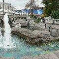 Fontaines Disneyland place du Manège
