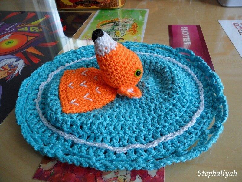 Cadre renard crochet - 3