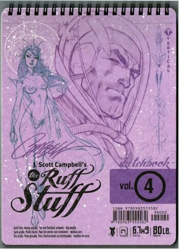 j scott campbell ruff stuff vol 4