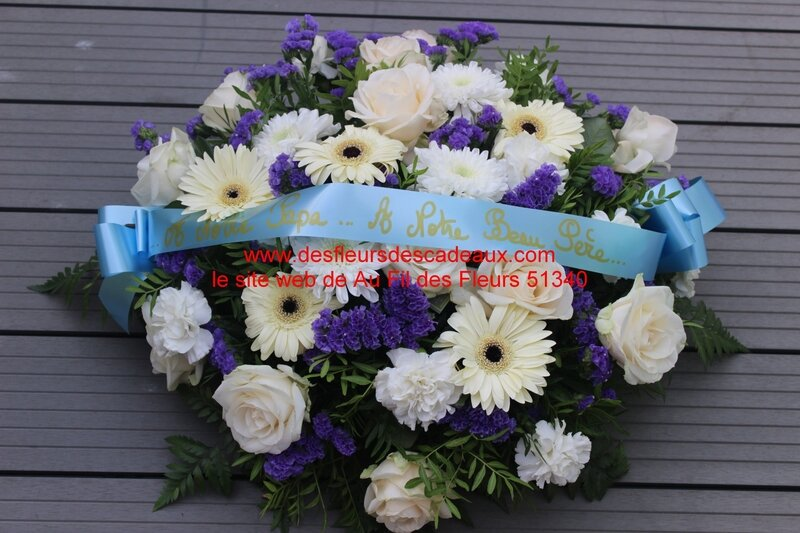 deuil livraison de fleurs Vanault les Dames (2)