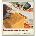 Patates douces et saumon à la sauce coco et échalotes