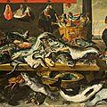 Frans snyders (anvers, 1579 - 1657), l'étal du poissonnier