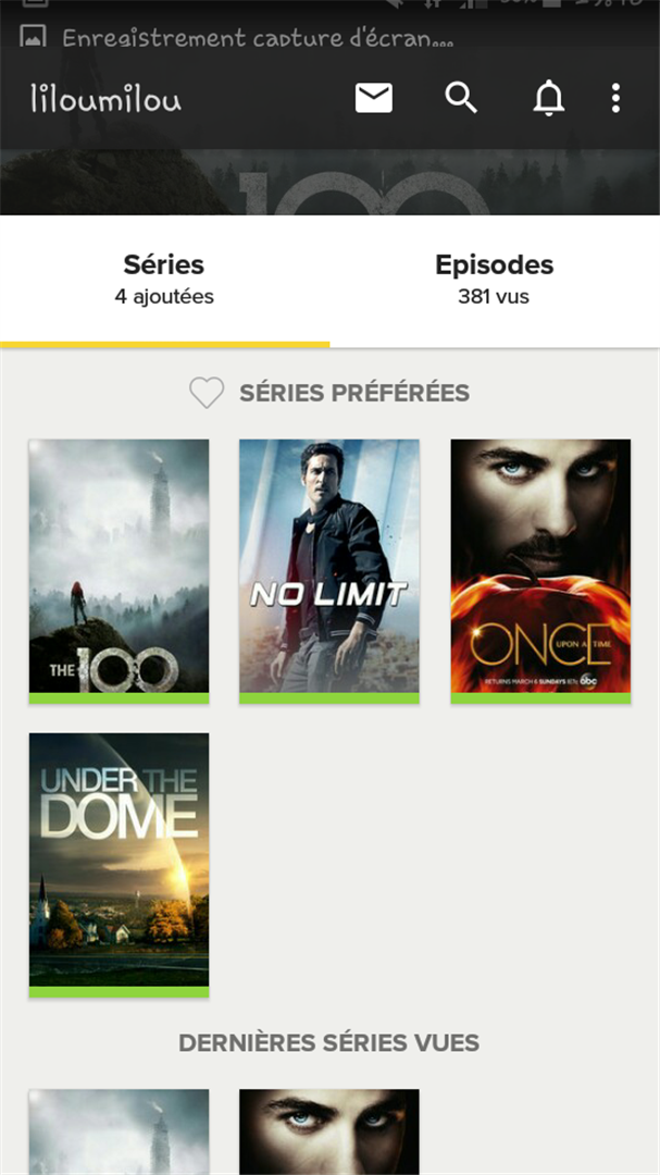 Coups de coeur : nos séries du moment + application TV show time ♥