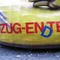 Attention blague: Zug ende = chariot de fin, zug ente = chariot-canard