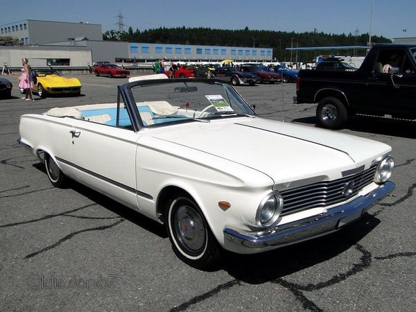 plymouth valiant v200 convertible 1964 3