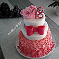 Wedding cake anniversaire