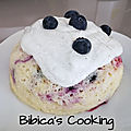 Bowlcake semoule myrtilles