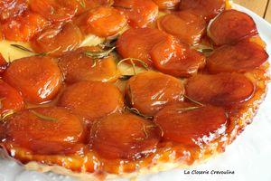 tatin abricots romarin