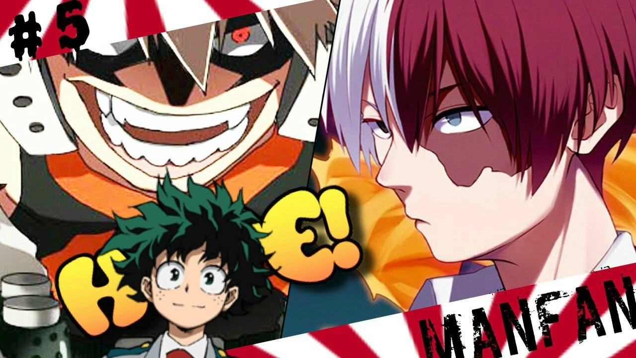 Critique My Hero Academia : Nouvelle video de