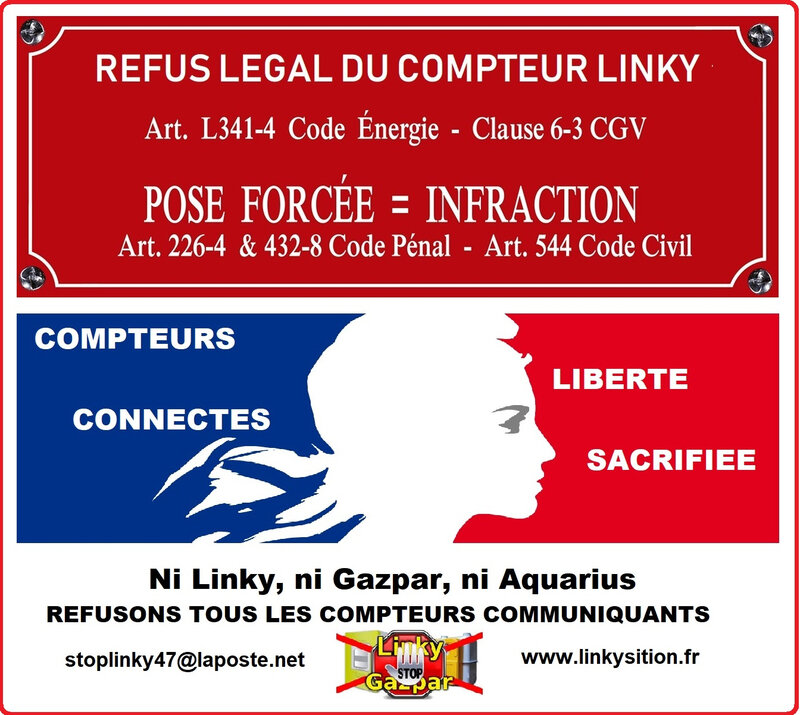Refus legal Linky