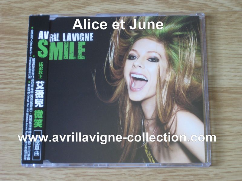 Maxi CD Smile-version de Taïwan (2011)