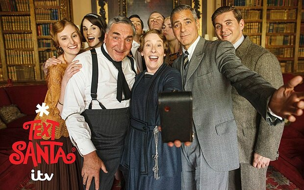 Downton and Clooney Selfie