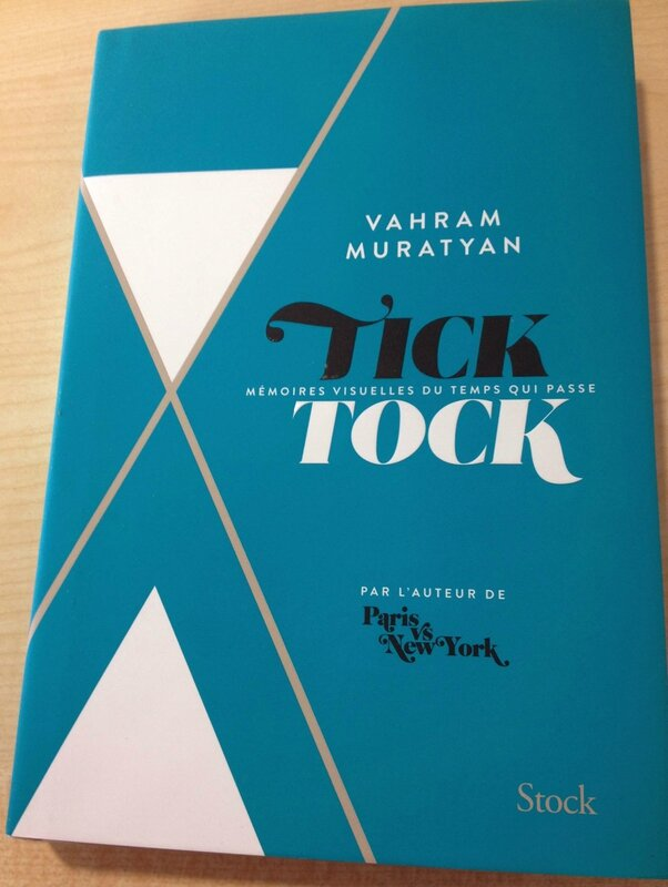 8-Livre Vahram Muratyan-Tick tock-Paris vs New-York-Edition Stock