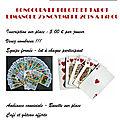 Tournoi de cartes dimanche 25 novembre
