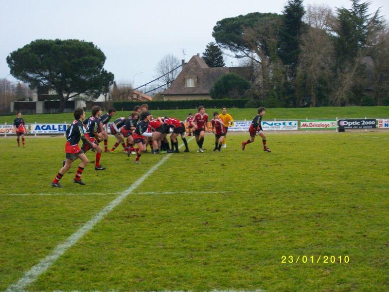 23 janvier, Cadets 2 contre Cap Ferret