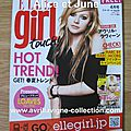 Elle Girl Touch!-Japon (avril 2011)