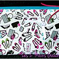 Trousse à maquillage girly pour fashion addicts