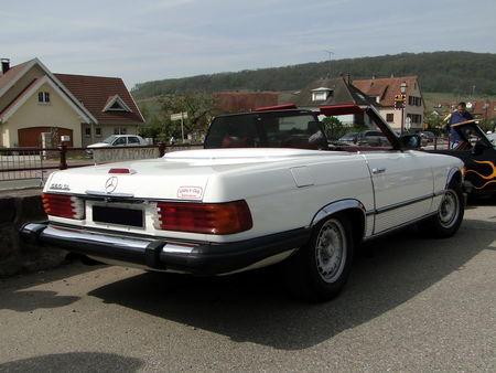 MERCEDES BENZ 560 SL Roadster version US 1982 1989 Bourse Echanges de Soultzmatt 2010 2