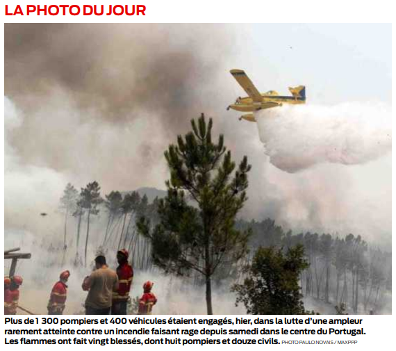 2019 07 22 SO Incendie au Portugal