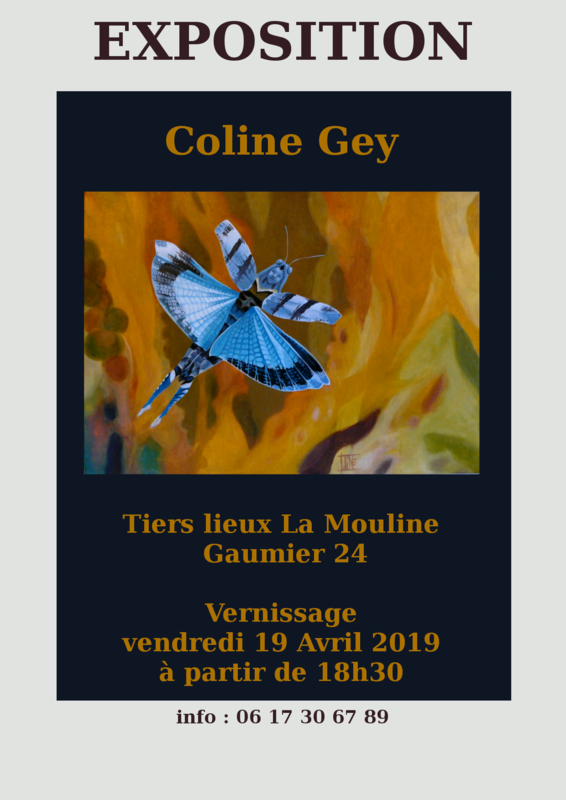 affiche expo Gaumier avril 19