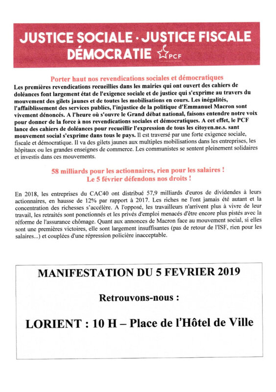 tract 5 fevrier