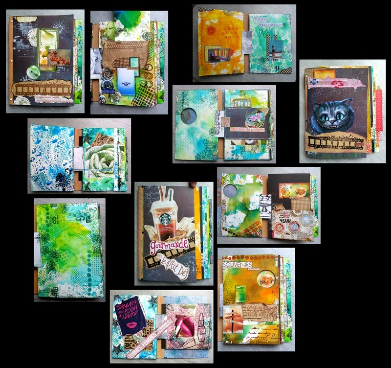 Montage Art journal