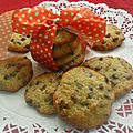 Cookies banane,noix et pépites de choco !